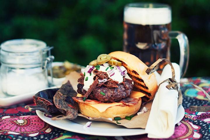 Hamburgerbröd från Dahls