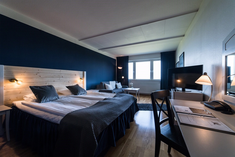 Övernattning för 2 på Hotell Gyllene Uttern i Gränna