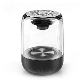 Svart, Wireless Bluetooth speaker with LED lights, Høyttaler med LED-lys, ,