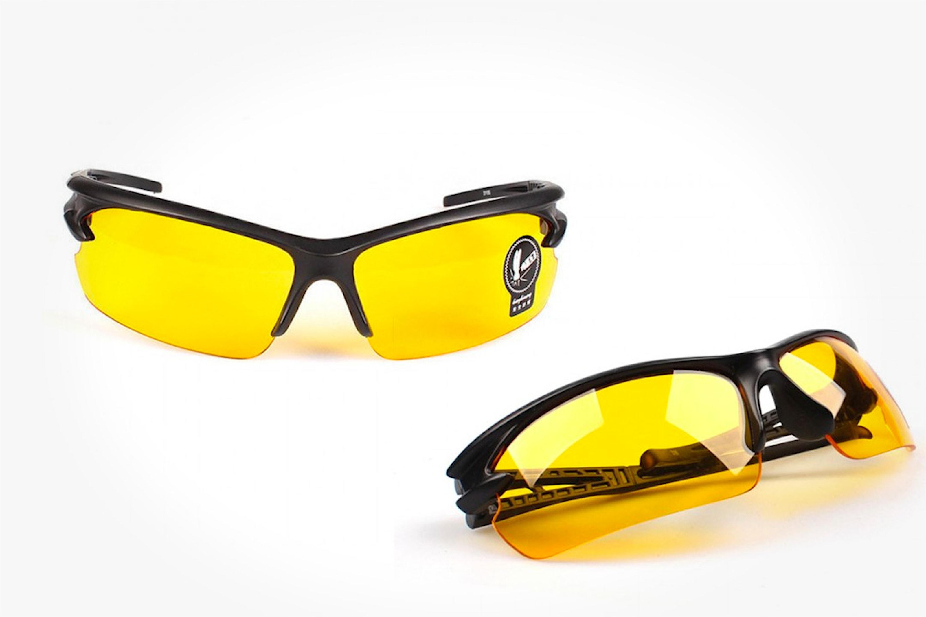 Mörkerglasögon för bilkörning