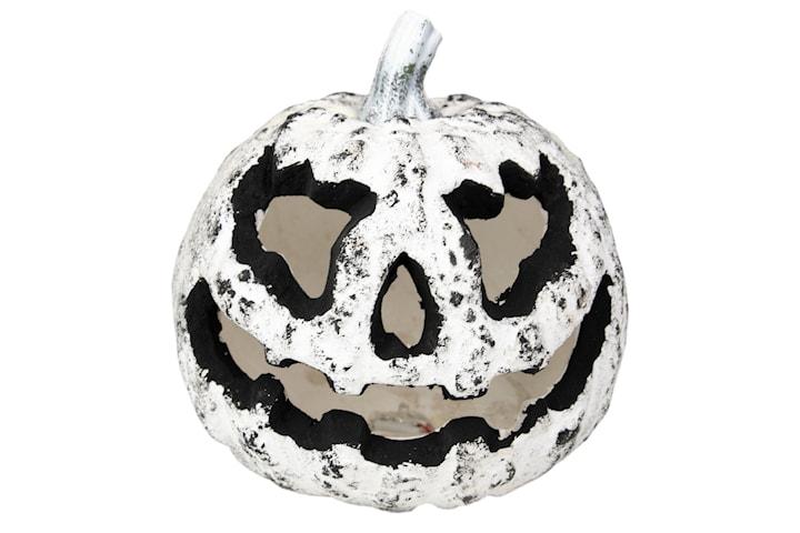 Vit och Svart Pumpa, Dekoration - Halloween
