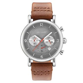 GT007008, GT007008, Urtavla (Ø): 44 mm, Armband: Läder,