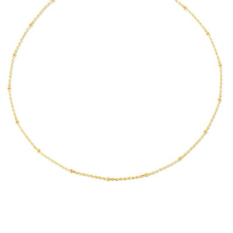 "Gul, Simple Choker Necklace ""Talisa"", Halsband från Van Amstel, ,"