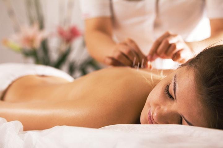 Massage och akupunktur, 80 min