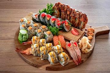 Reale sushi smaksbomber hos Nagai - slik du aldri har smakt sushi før