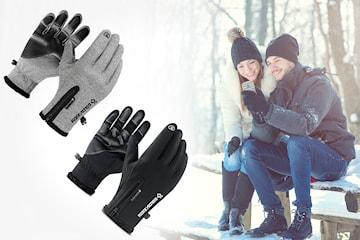 Vindtette touch hansker