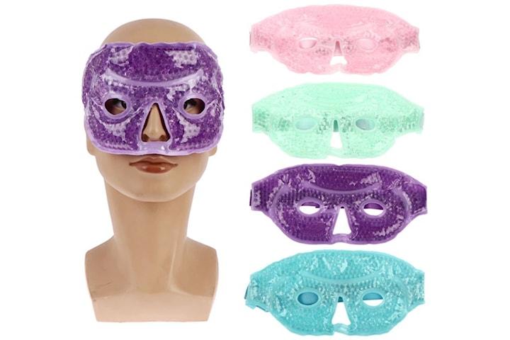Kylande och värmande ansiktsmask