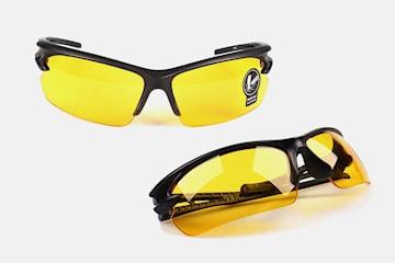 Glasögon för nattkörning