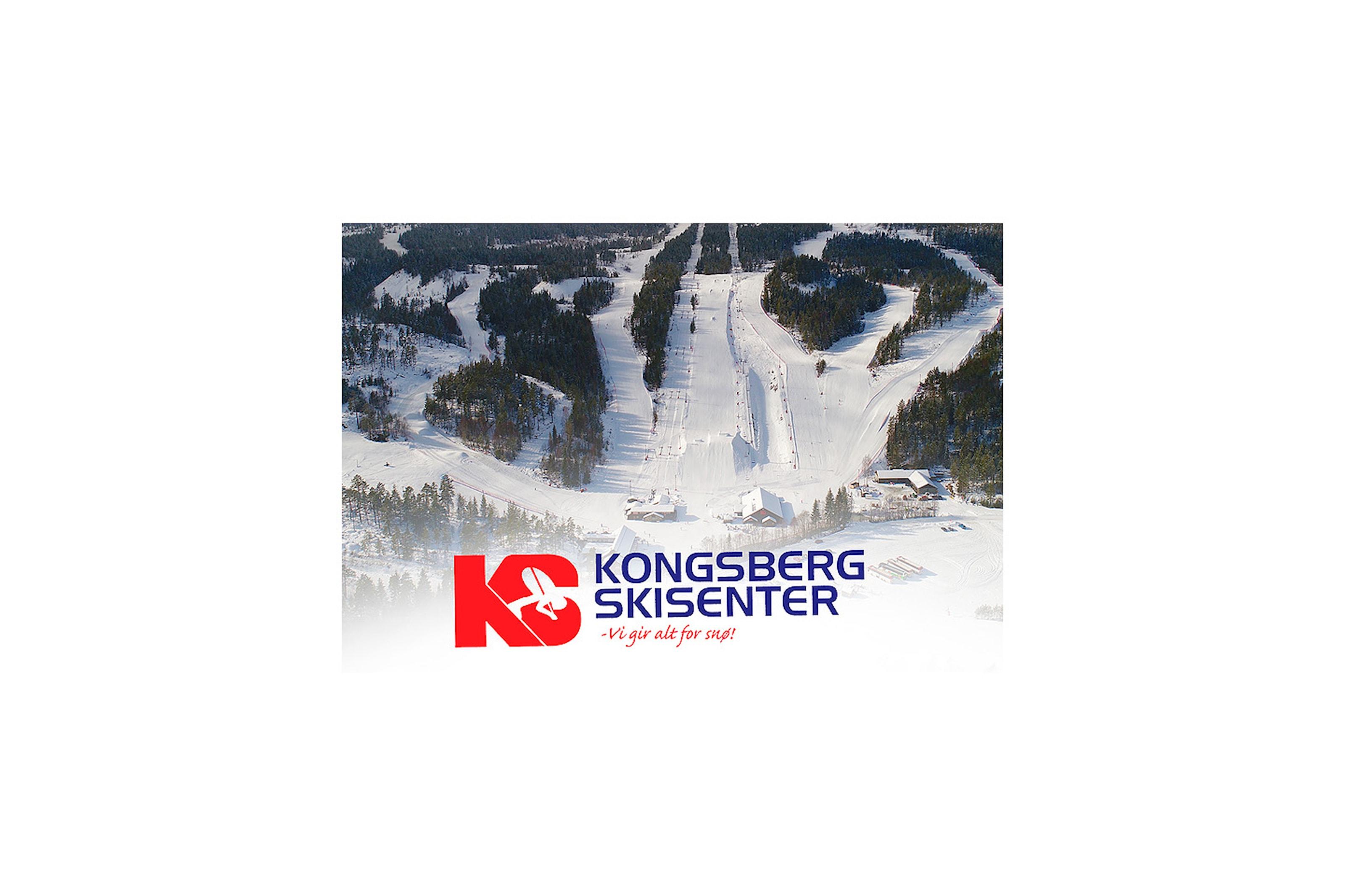 Dagspass til halv pris på Kongsberg Skisenter!