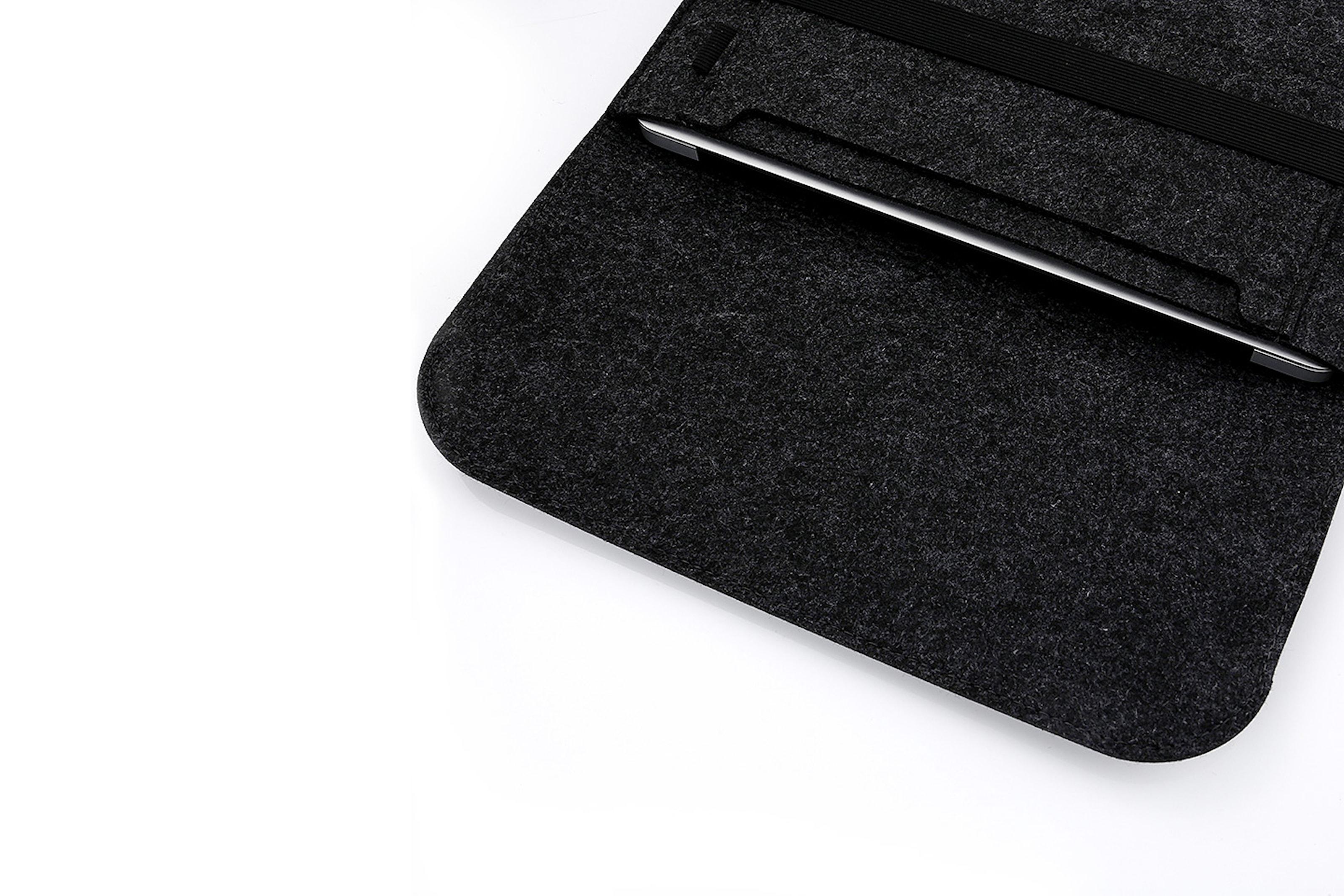 Datorfodral i filt designad för Macbook
