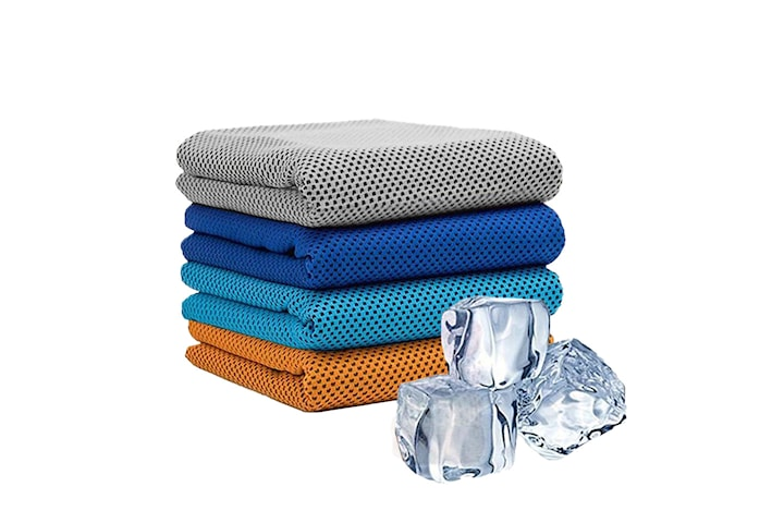 Håndkle som kjøler