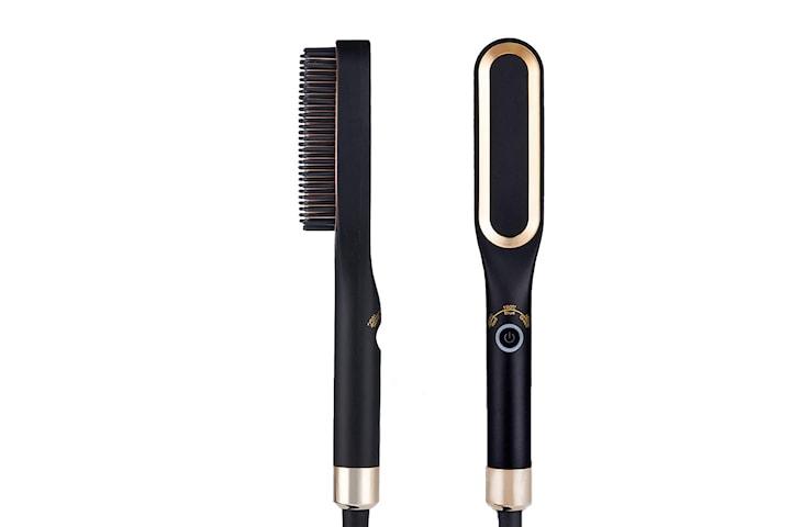 Varmebørste for hår og skjegg