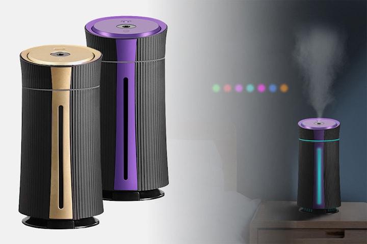 Luftfuktare med aromaterapi