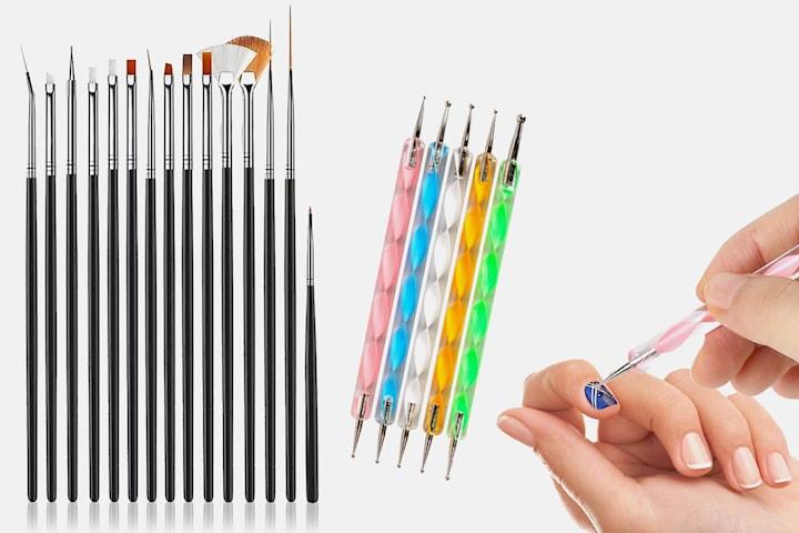 Nail art-sett 20-pack