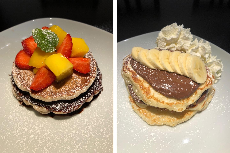 Amerikanska pannkakor på Drottninggatan