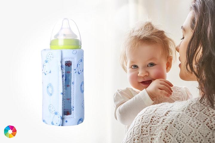 USB-varmer til babyflaske