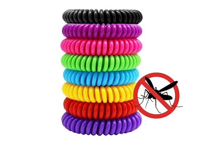 Myggarmband 8- eller 16-pack