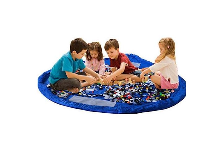 Förvaringspåse / Lekmatta för Leksaker - Blå