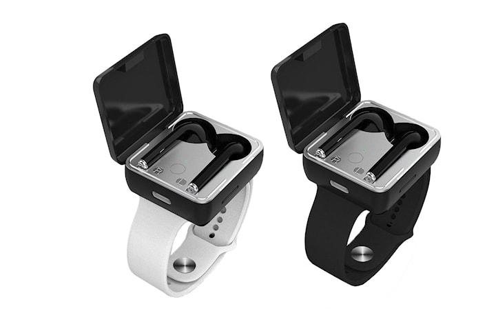 Armband med trådlösa hörlurar