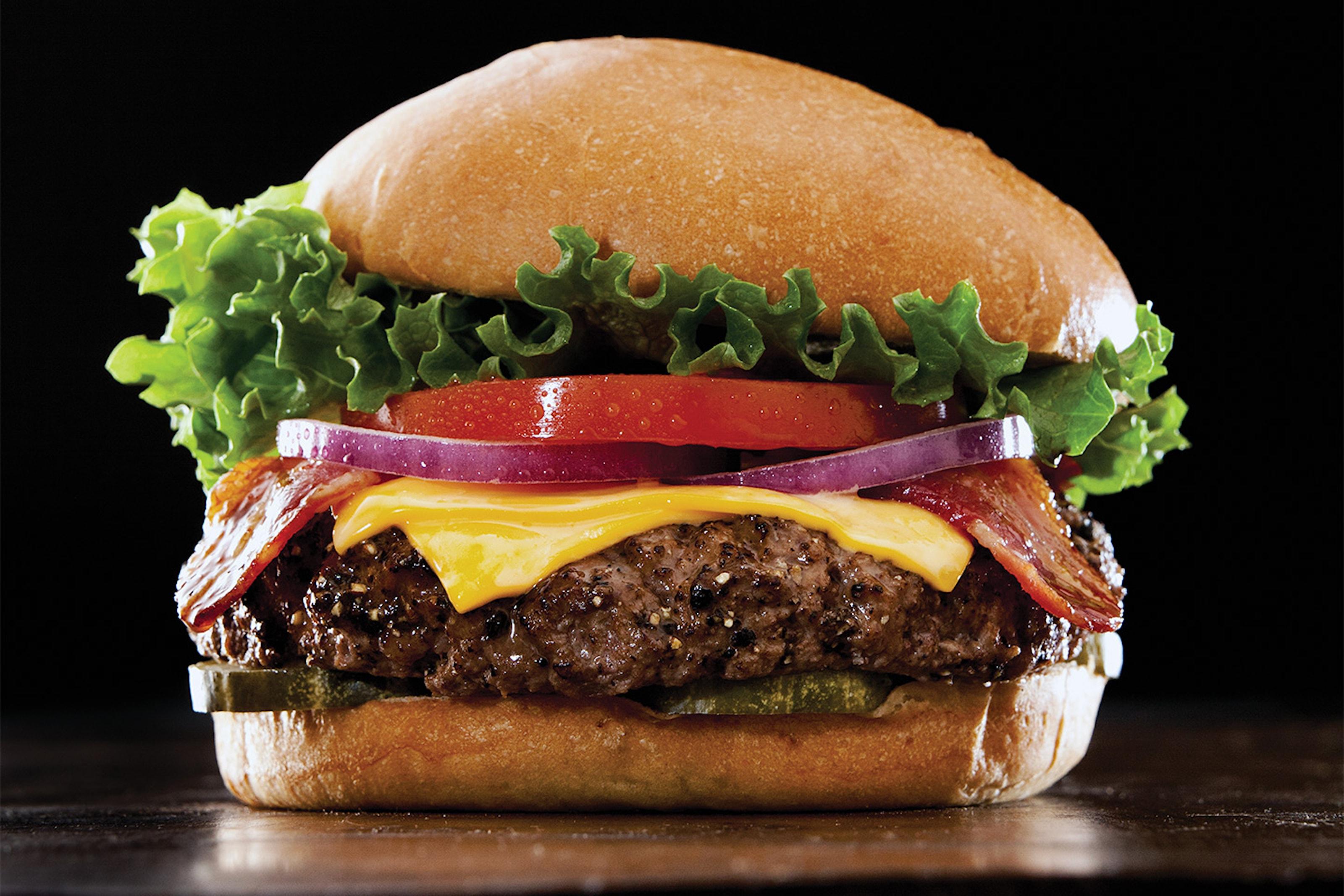 50% rabatt på valfri hamburgare hos TGI Fridays!