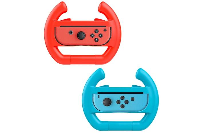 Ratt till Nintendo Switch Joy-Con 2-pack Röd/Blå
