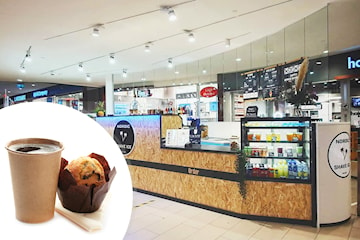Kaffe och valfri muffins hos Nordic Shave Ice