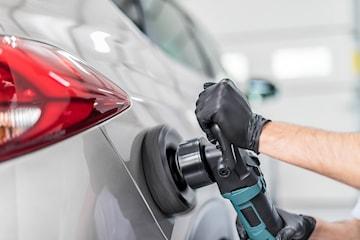 Polering og vask av bilen hos Laksevåg Bilvask