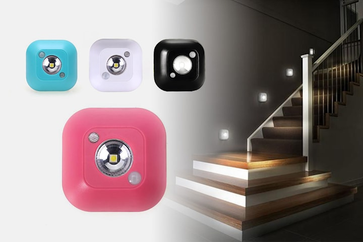 Nattlampa med rörelsesensor