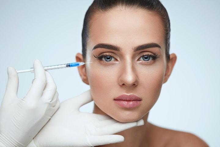 Injektionsbehandling botulinumtoxin hos Model Look