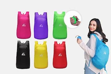 Vikbar ryggsäck