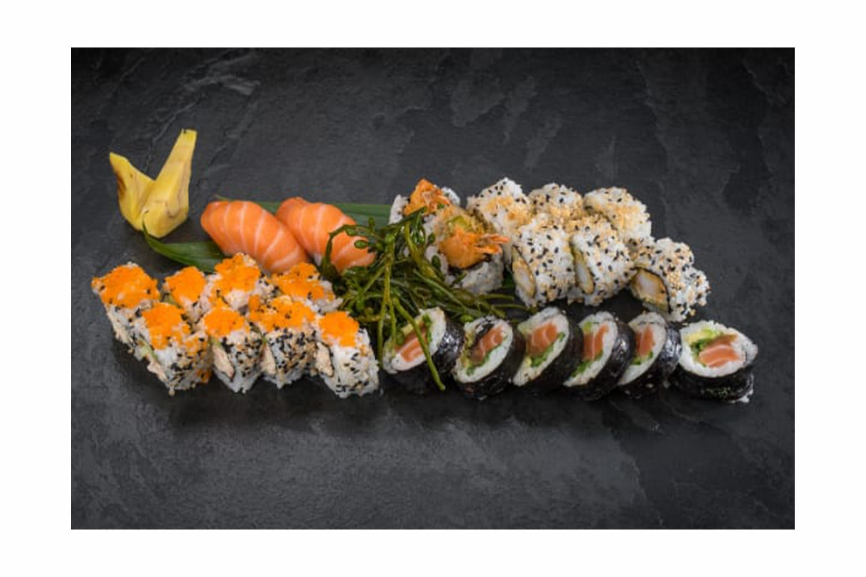 Fantastisk tilbud på deilige Sushipakker hos Sushimi Strandkaien