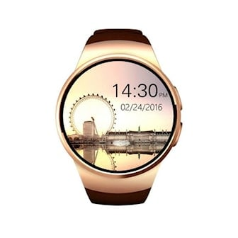 Guld/Brun, 2in1 Bluetooth Watch & Fitness Tracker, 3 Colors, Smartwatch med Bluetooth, ,