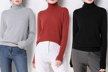 Turtleneck genser