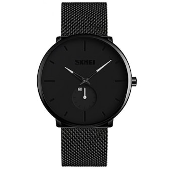 Svart/Vit, SKMEI Men's Big Dial Quartz Watch, SKMEI herrklocka, ,