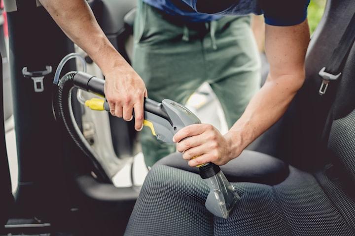 Klädseltvätt av 5 bilsäten hos Elit bilhandtvätt