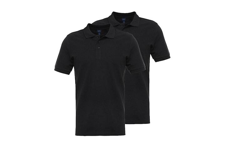 Basic Polo - 2 pack - 100% bomull