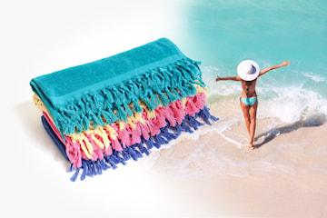 LD Terry beach-handdukar