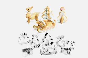 Pepparkaksformar i 3D-format