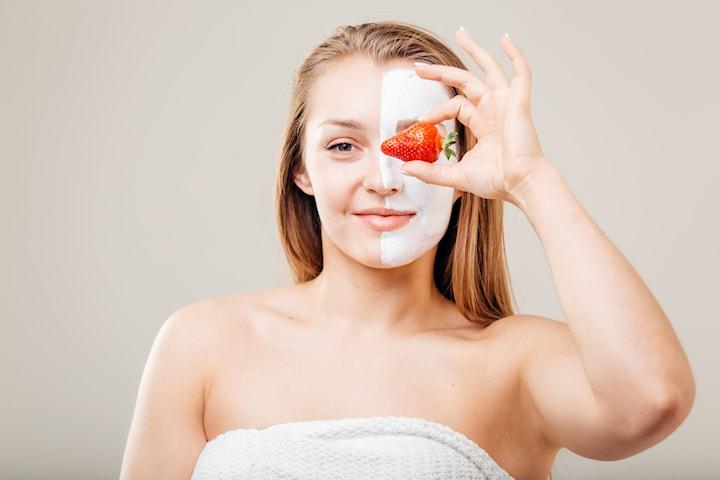Spa-behandling Strawberry & Coconut Dream med massage och ansiktskur