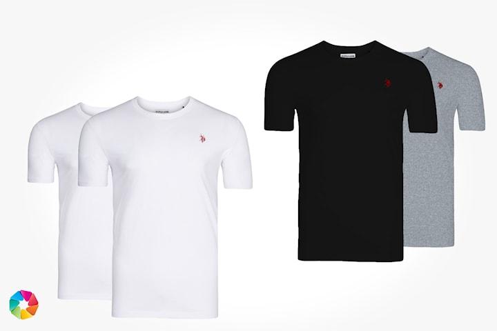 T-skjorter fra U.S. Polo Assn. 2-pack