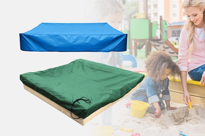 Beskyttelse for sandkassen eller uteleker