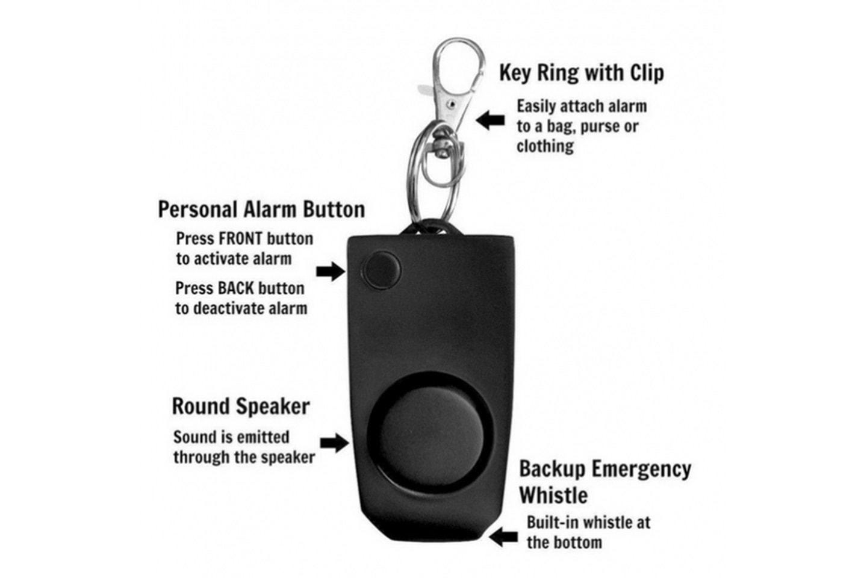 Nödlarm med mycket hög decibel