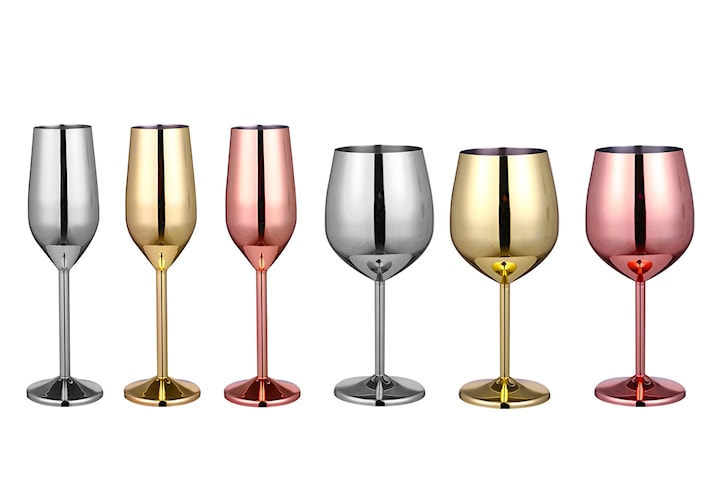 Vinglass eller champagneglass