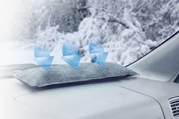 Luftavfukter til bil