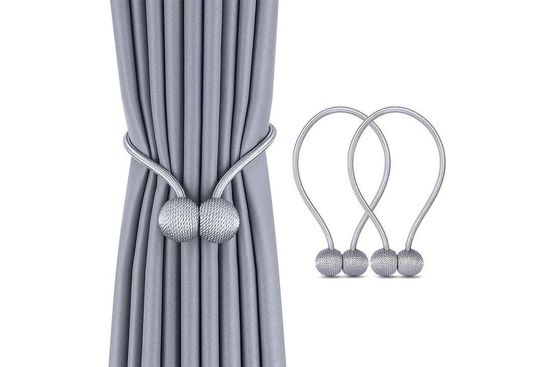 Magnetisk gardinbånd 2-pack