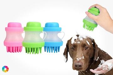 Rengjøringsbørste til hunder