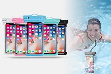 Vattentätt fodral för mobilen