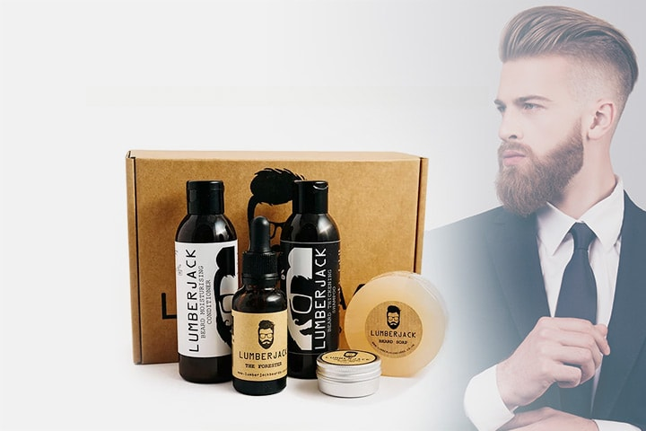 Lumberjack Beards presentbox