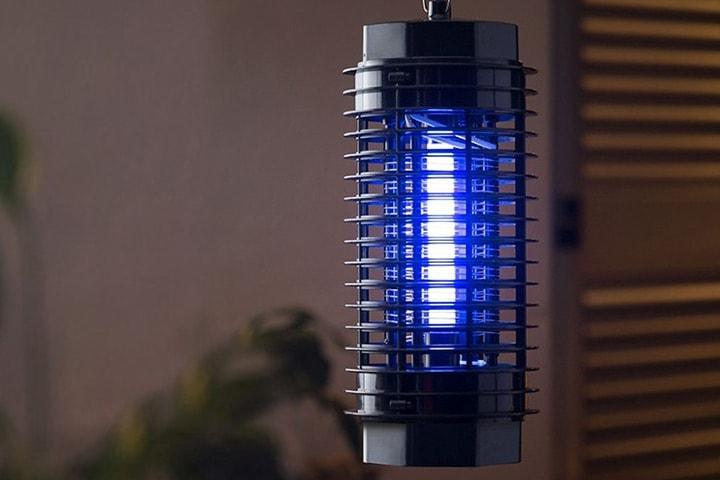 Myggfångare med UV-ljus