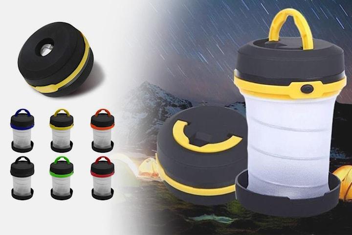 Sammenleggbar LED-campinglykt